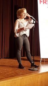 Poetry-Abend 02.03.2017 Antonia